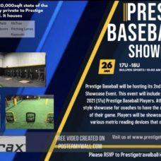 2020 Prestige Baseball Showcase